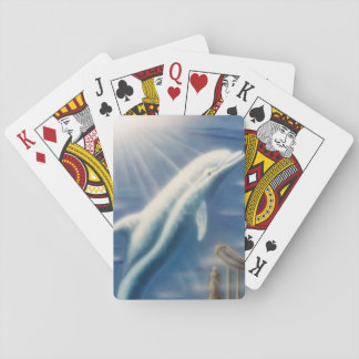 V025- Dolphin Dreamer Playing Cards