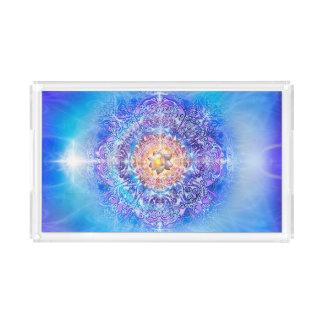 V027- Inner Lotus Acrylic Tray
