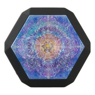V027- Inner Lotus Black Bluetooth Speaker