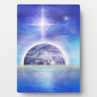 V043 Earth Water Air Plaque