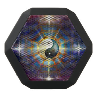 V051 BaGua Dragons Black Bluetooth Speaker
