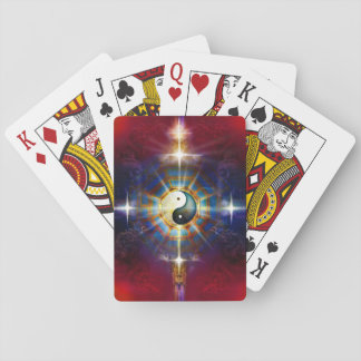 V051 BaGua Dragons Playing Cards