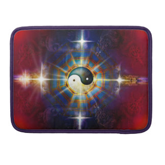 V051 BaGua Dragons Sleeve For MacBook Pro