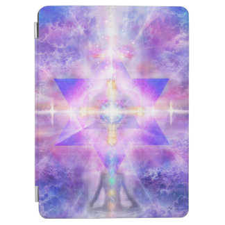 V054 Merkaba Light iPad Air Cover