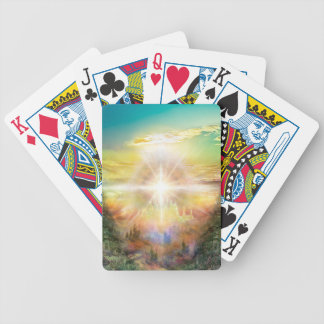 V057 One Door Land Bicycle Playing Cards