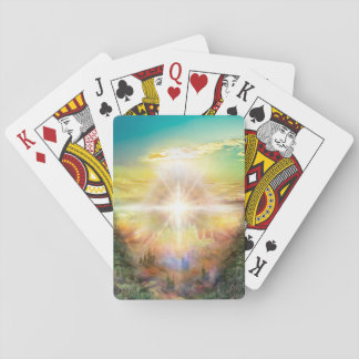 V057 One Door Land Playing Cards