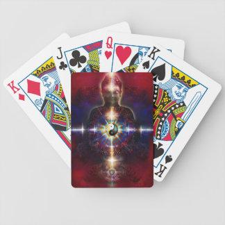 V064 BaGua Buddha Dragon Bicycle Playing Cards