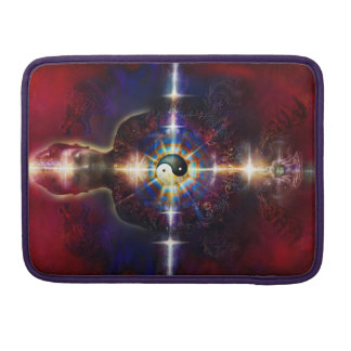 V064 BaGua Buddha Dragon Sleeve For MacBooks