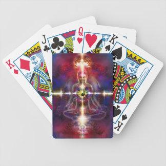 V074 Awake Buddha Dragons Bicycle Playing Cards