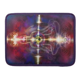 V074 Awake Buddha Dragons MacBook Pro Sleeves