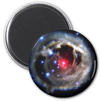 V838 Monocerotis (outer space) ~.jpg 6 Cm Round Magnet