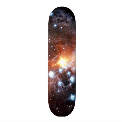 V838 Monocerotis Skateboard