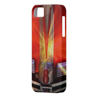 V8 Chrome Emblem on Hotrod iPhone 5 Cases