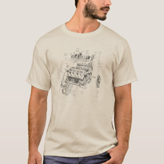 V8 engine T-Shirt