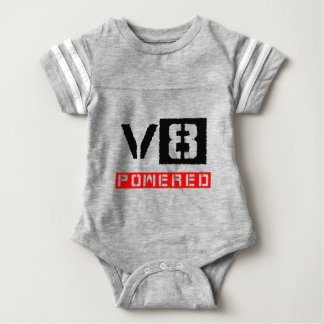 V8  powered baby bodysuit