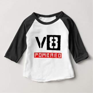 V8  powered baby T-Shirt