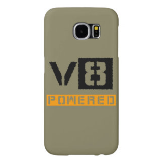 V8 powered yellow samsung galaxy s6 cases