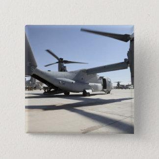V-22 Osprey tiltrotor aircraft 2 15 Cm Square Badge