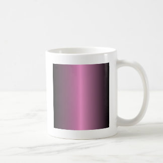 V Bi-Linear Gradient - Black and Pink Coffee Mug