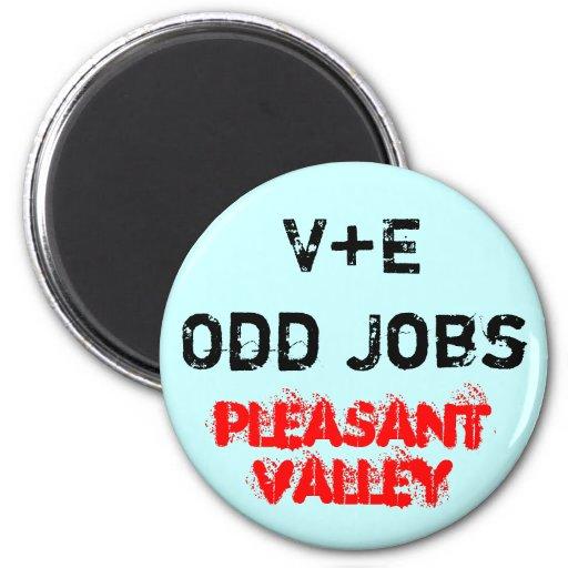 V+E Odd Jobs Magnets