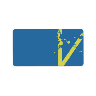 V Initial Collection Matching Return Address Label