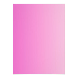 V Linear Gradient - Dark Pink to Light Pink Personalized Announcements