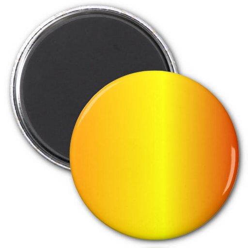 V Linear Gradient - Orange, Yellow, Red Magnet