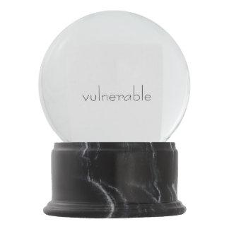 V*lnerable Snow Globe