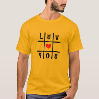 Va-cA Big 'n TALL #luvu yellow tee for him by DAL