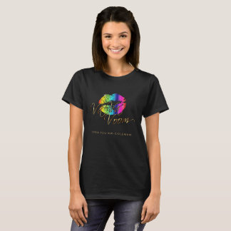 Va Va Voom Rainbow  Lips T-Shirt