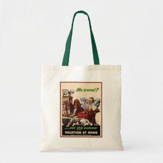 Vacation at Home Budget Tote Bag