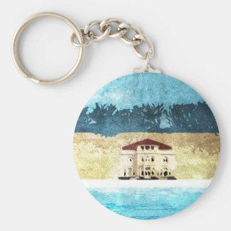 Vacation Basic Round Keychain