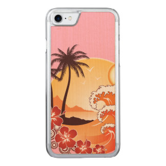 Vacation Carved iPhone 8/7 Case