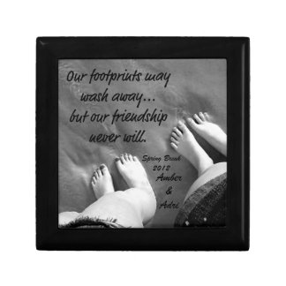 Vacation Forever Friendship Small Square Gift Box