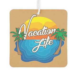 Vacation in a Car (air freshener) Car Air Freshener