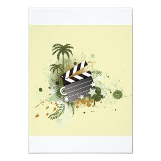 Vacation Movie Scene Invitations