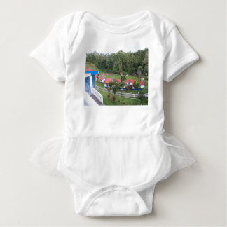 vacation retreat in costa rica baby bodysuit