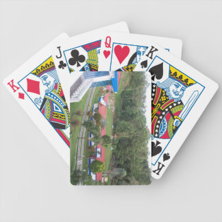 vacation retreat in costa rica bicycle playing cards