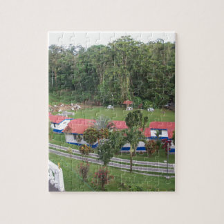 vacation retreat in costa rica jigsaw puzzle