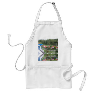 vacation retreat in costa rica standard apron
