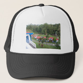 vacation retreat in costa rica trucker hat