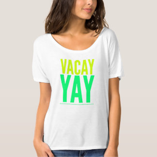 Vacation T-shirt. Spring Break.Carnival clothing. T-Shirt