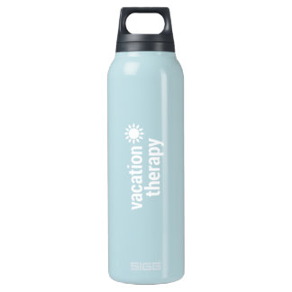 Vacation Therapy Hot and Cold Traveler Insulated Water Bottle