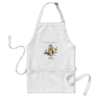 Vacation Time - Girls Standard Apron