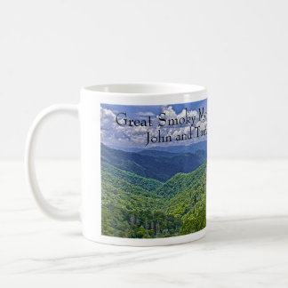 Vacation / Wedding Date Smoky Mountains Mug