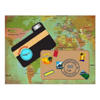 Vacationing Postcard