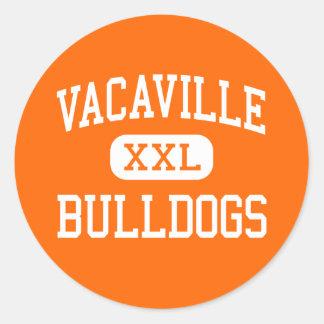 Vacaville - Bulldogs - High - Vacaville California Stickers