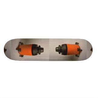 Vacuum cleaner, no hose skate deck