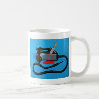 Vacuum Murder (no text) Basic White Mug