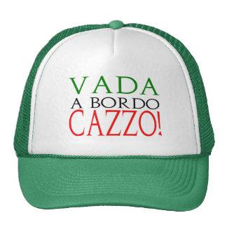 Vada a bordo Cazzo logo hat Mesh Hat